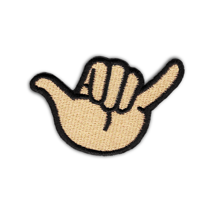 "THE HANG LOOSE ""SHAKA"" PATCH"