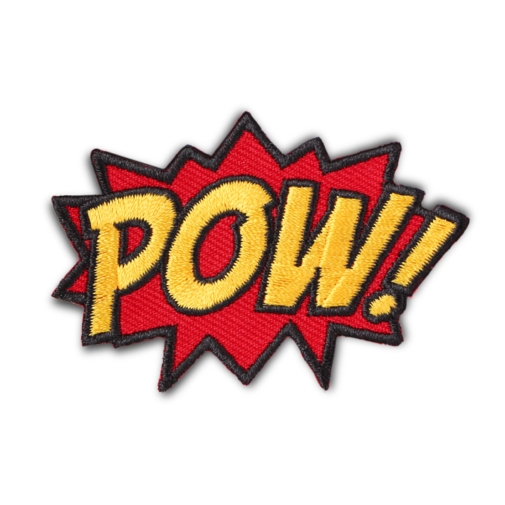POW! COMIC PATCH