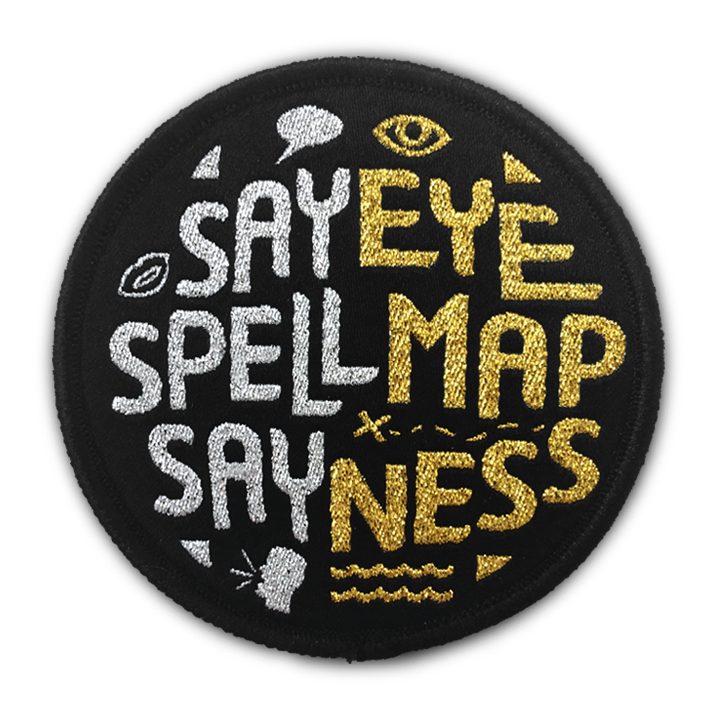 THE 'EYE MAP NESS' PATCH