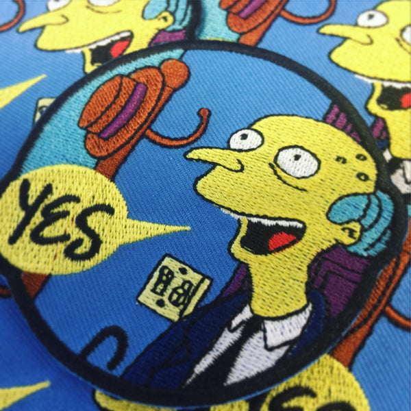 "THE ""SMITHERS I'M HOME"" PATCH"