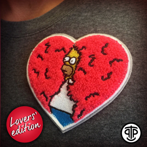 DISAPPEARING HOMER LOVERS' EDITION - PATCH & PIN COMBO