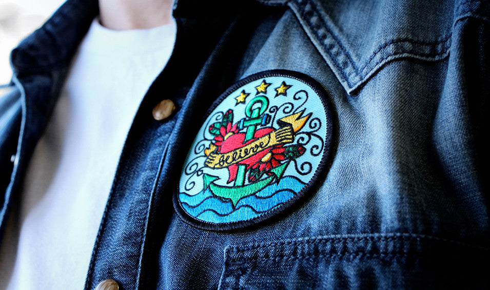 BELIEVE - Embroidered Patch