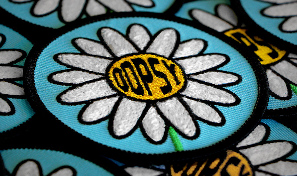 OOPSY DAISY Embroidered Patch