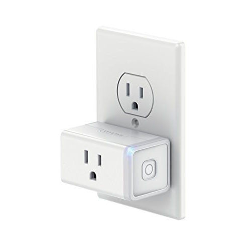 TP-Link Smart Plug Mini, No Hub Required, Wi-Fi, Works with Alexa, Control your Devices from Anywhere, Occupies Only One Socket (HS105) - qwikby