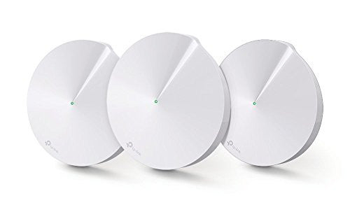 TP-Link Deco M5 Whole Home Wi-Fi Mesh System w/ HomeCare – Seamless, Secure Wi-Fi for Every Room | Up to 4,500 sq. ft. Coverage | Router Replacement | 3-Pack