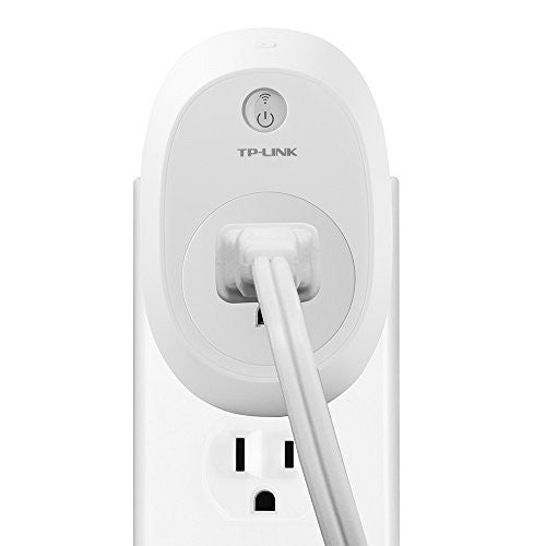 TP-Link Smart Plug w/ Energy Monitoring, No Hub Required, Wi-Fi, Works with Alexa, Control your Devices from Anywhere (HS110) - qwikby