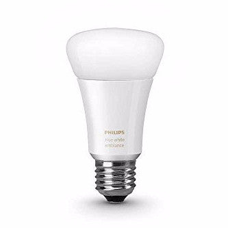 Philips 461020 Hue White Ambiance Single A19 Bulb, Works with Amazon Alexa - qwikby