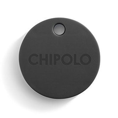 Chipolo 2nd Gen 110088 Bluetooth Key Phone Car Luggage Wallet Item Finder & Selfie Remote, Jet Black