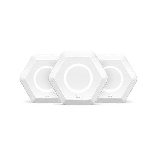 Luma Whole Home WiFi System (3 Pack - White) -  Replaces WiFi Extenders and Routers, Works with Alexa, Simultaneous Dual Band 2.4/5GHz, Parental Controls/Security, Gigabit Speed, WPA/WPA2 Encryption - qwikby