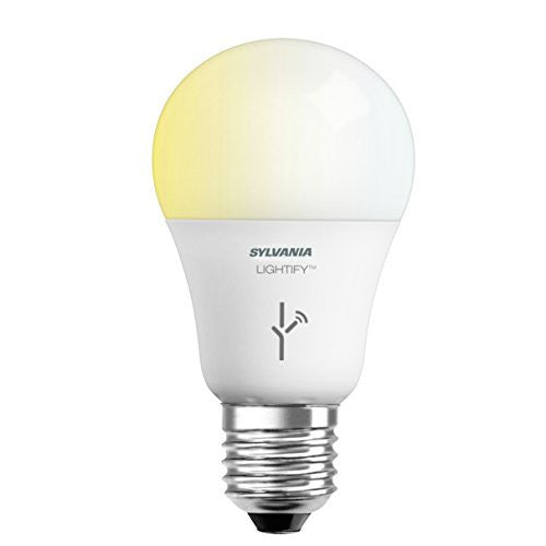 SYLVANIA LIGHTIFY by Osram - Smart Home LED Light Bulb, 60W, Tunable White, A19 - qwikby