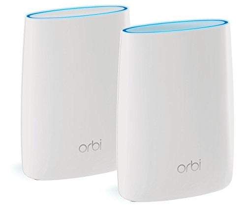 Orbi Home WiFi System by NETGEAR. Better WiFi Everywhere with 3 Gigabit Speed, Tri-Band Mesh WiFi, Easy Setup, Replaces WiFi Range Extenders. Compatible with Amazon Echo/Alexa - qwikby