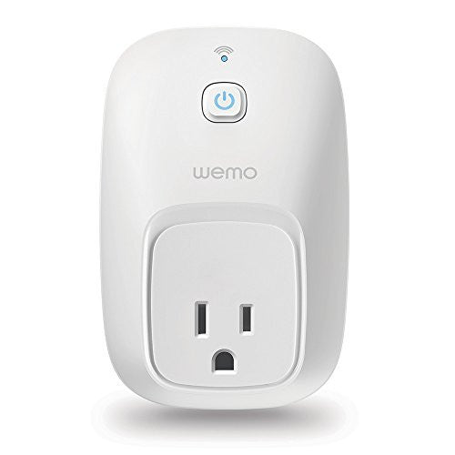 WeMo Switch Smart Plug, Wi-Fi, Works with Amazon Alexa - qwikby