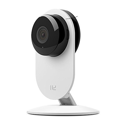 YI Home Camera Wireless IP Security Surveillance System (US Edition) White - qwikby