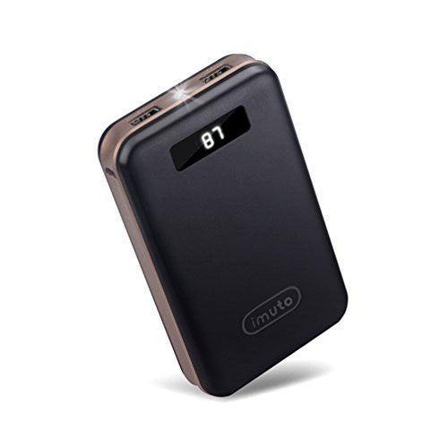 iMuto 20000mAh Power Bank with Smart LED Digital Display - qwikby