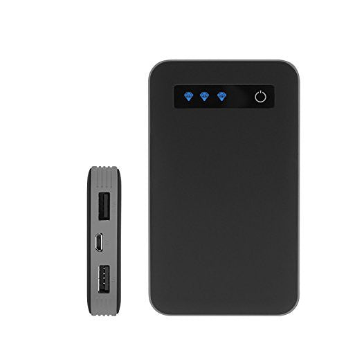 iJoy Portable Charger Ultra-Slim 10000mAh Power 10K Power Bank - qwikby