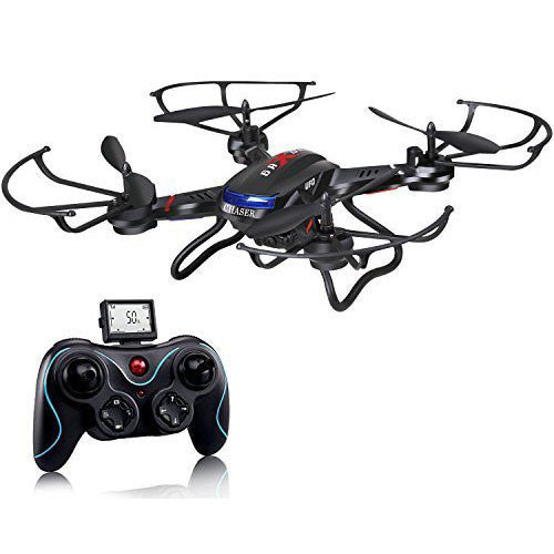 Holy Stone F181 RC Quadcopter Drone with HD Camera RTF 4 Channel 2.4GHz 6-Gyro Headless System - qwikby