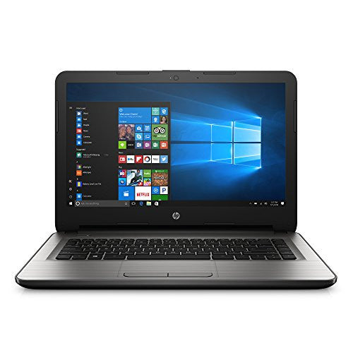 HP 14-an013nr 14-Inch Notebook (AMD E2-7110 QC, 4GB RAM, 32 GB eMMC Hard Drive, Windows 10 Home 64) - qwikby