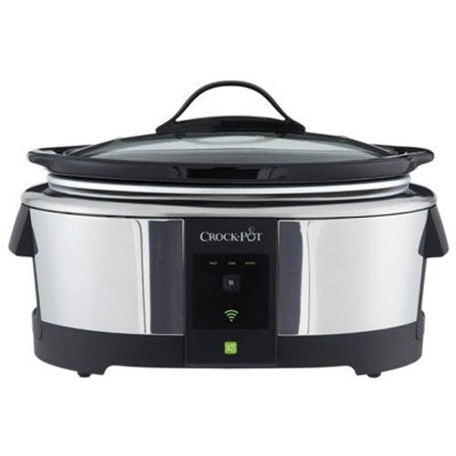 Crock-Pot Wemo Smart Wifi-Enabled Slow Cooker, 6-Quart, Stainless Steel - qwikby