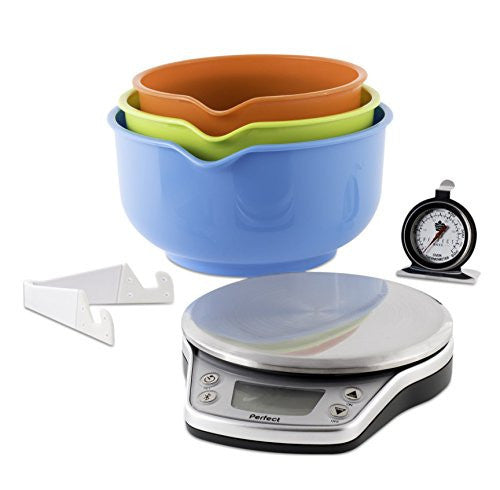 Perfect PBP016 Wireless Bake Pro Smart Kitchen Scale and Recipe App - qwikby