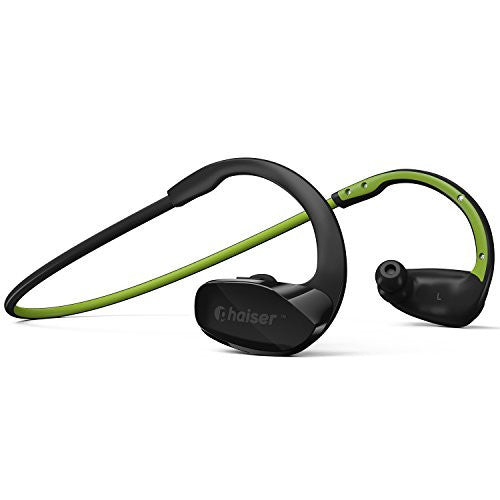 Phaiser BHS-530 Bluetooth Headphones, Wireless Earbuds Stereo Earphones for Running with Mic - qwikby