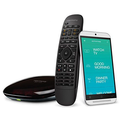 Logitech Harmony Companion All in One Remote Control for Smart Home and Entertainment Devices, works with Alexa - qwikby
