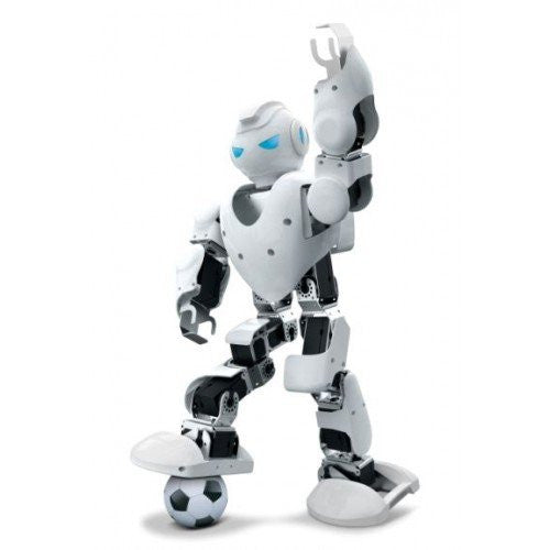 UBTECH Alpha 1S Intelligent Humanoid  Robotic (White) - qwikby