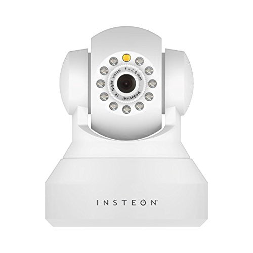 Insteon 2864-222 HD IP Camera, White - qwikby