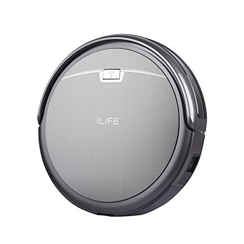 ILIFE A4 Robot Vacuum Cleaner, Titanium Gray - qwikby
