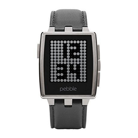 Pebble Steel Smartwatch - qwikby