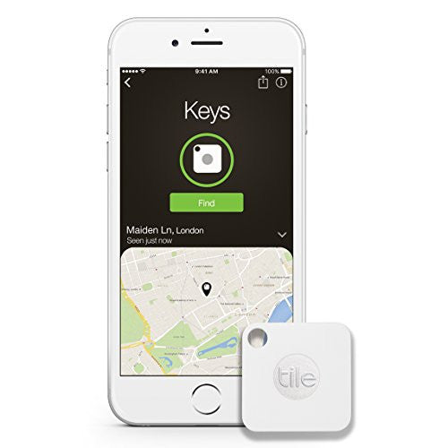 Tile Mate - Key Finder. Phone Finder. Anything Finder - 1-pack - qwikby