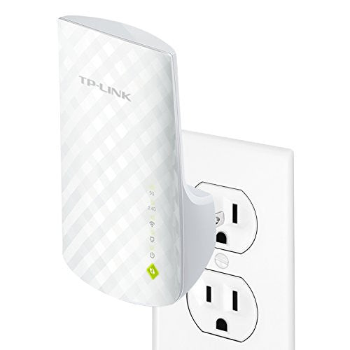 TP-Link AC750 Dual Band WiFi Range Extender, Extends WiFi to Smart Home & Alexa Devices (RE200)