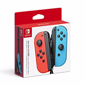 Nintendo Switch - Joy-Con (L/R)-Neon Red/Neon Blue - qwikby