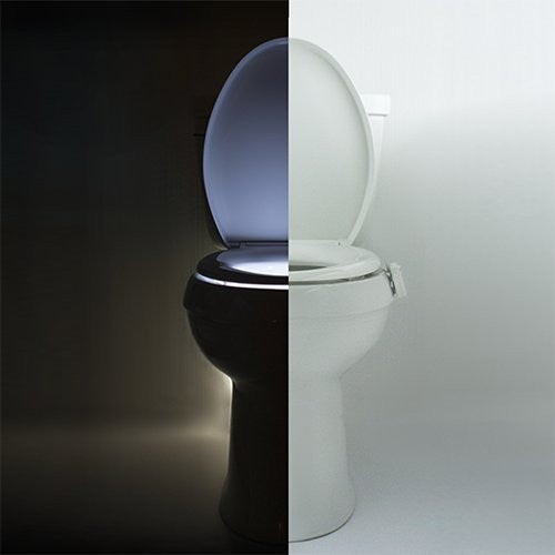 IllumiBowl Toilet Night Light NEW VERSION (As Seen On Shark Tank) - qwikby