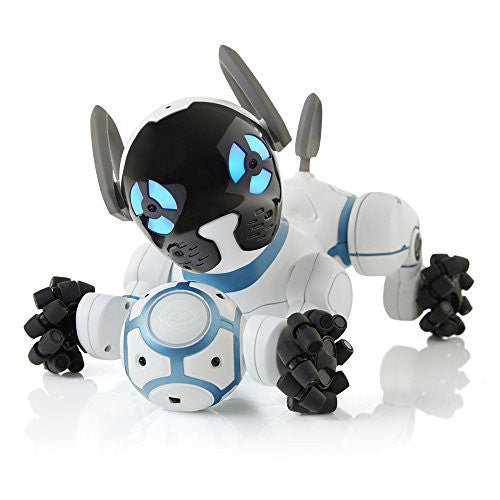 WowWee CHiP Robot Toy Dog - White - qwikby
