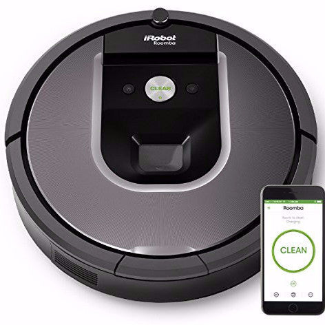 iRobot Roomba 960  Robotic Vacuum Cleaner - qwikby
