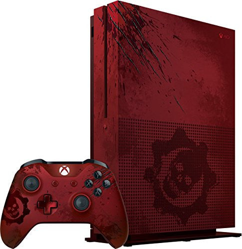 Xbox One S 2TB Console - Gears of War 4 Limited Edition Bundle - qwikby