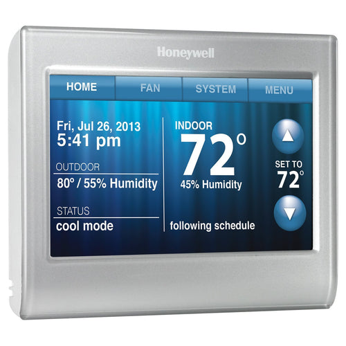 Honeywell Smart Thermostat, Wi-Fi, Touchscreen, Works with Amazon Alexa - qwikby