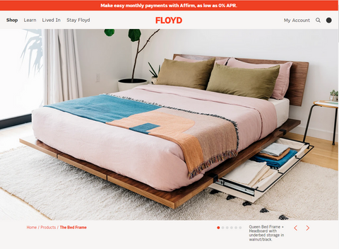 Floyd bed page