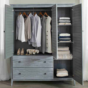 Greenport 3-Door Wardrobe