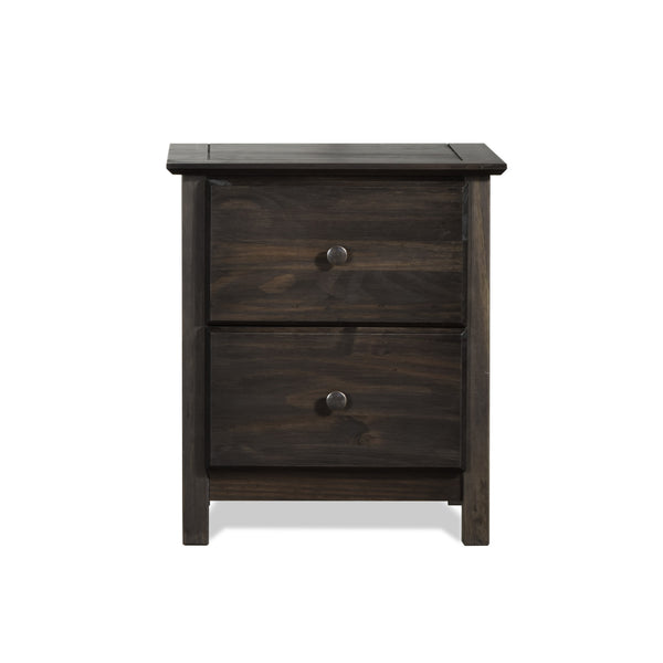 Shaker 2-Drawer Nightstand -  - Grain Wood Furniture - 6