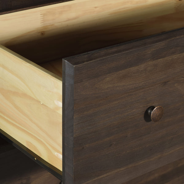 Shaker 2-Drawer Nightstand -  - Grain Wood Furniture - 7