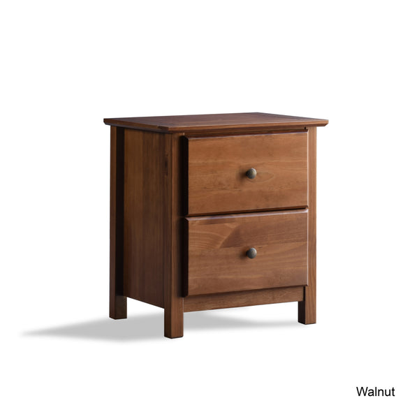 Shaker 2-Drawer Nightstand -  - Grain Wood Furniture - 9