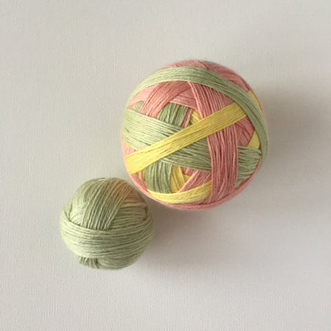 """A Mind at Work, Work!"" Self-striping Sock Yarn"