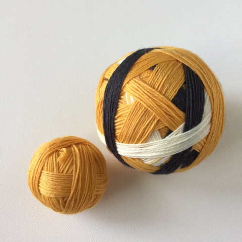 """The Big Three"" Self-striping Sock Yarn"