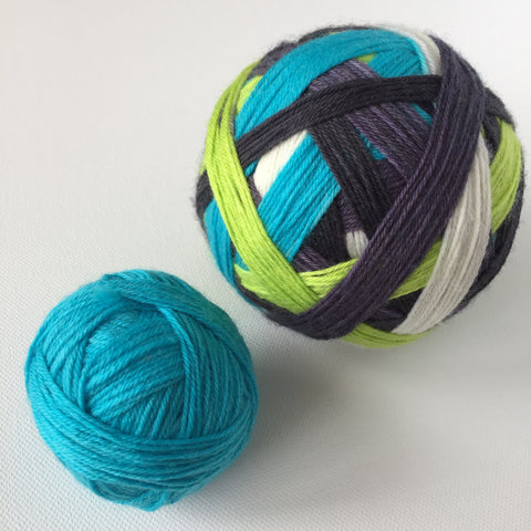 """Stashville"" Self-striping Sock Yarn"