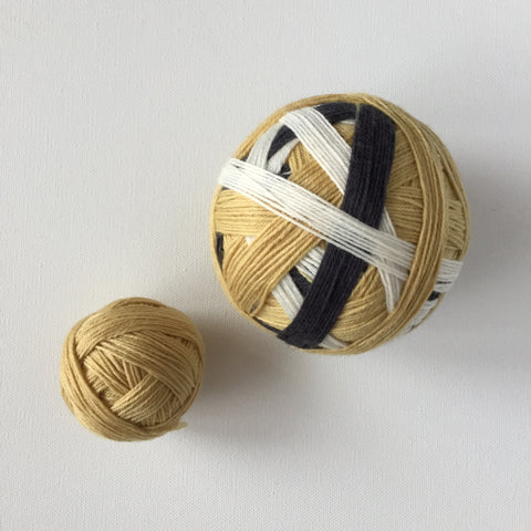 """Wofford"" Self-striping Sock Yarn"