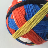 """Just Keep Swimmin'"" Self-striping Sock Yarn"