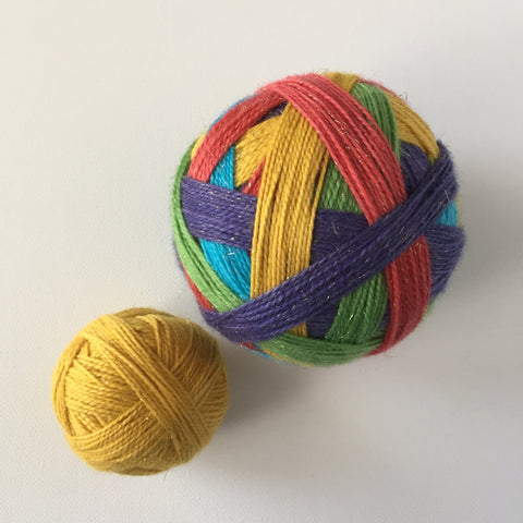 """Year of the Rat"" Self-striping Sock Yarn"
