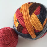 """The Bear Necessities"" Self-striping Sock Yarn"