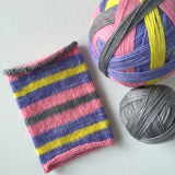 """Hangin' With My Peeps"" Self-striping Sock Yarn"